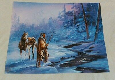 Native American Art Print Posters (6 Total) All are 16x20 (shipped flat)