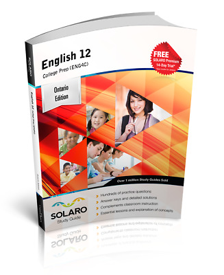 Ontario English 12 — College Preparation (ENG4C) (SOLARO Study Guide)