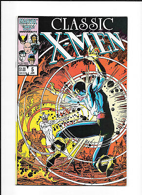 Classic X-Men #5 Decent (8.0) Marvel Adams-C