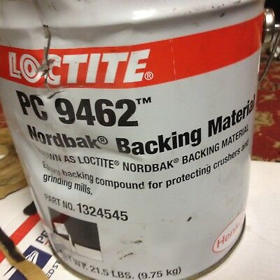 Henkel Loctite PC 9462 Nordbak Backing Material 1324545 Epoxy Compound 2 Gal.