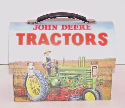 John Deere Tractors Lunch Box, Farmer On Tractor In Field