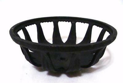 Vintage Cast Iron CUP BOWL HOLDER ONLY Part Restore Oil Lamp Wall Mount Sconce