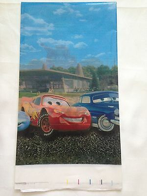Plastic Table Cover Children Birthday Party Tablecloth Decorations  Disney Cars
