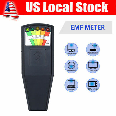 EMF Meter Radiation Detector Tester for Mobile Phone PC Wifi Router Laptop Alarm