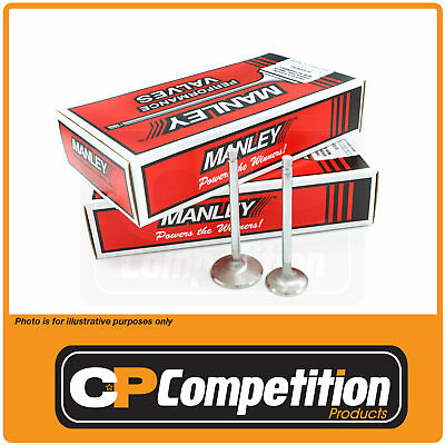 """Manley Valves 16 Holden 253 308 355 1.600"""" Exhaust 2.020"""" Inlet Stainless Steel"""
