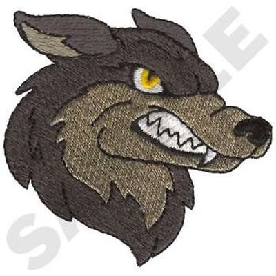 """Wolf, Wolves, Sports, Mascot Embroidered Patch 3""""x 2.9"""""""