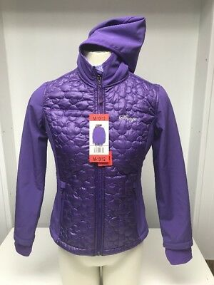 Snozu Girls Jacket Sz M 10/12