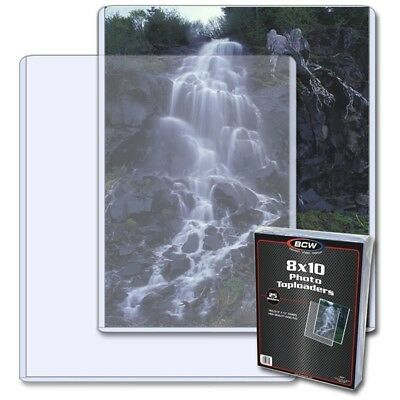 Bcw 8 X 10 - Photo Topload Holder  - BRAND NEW