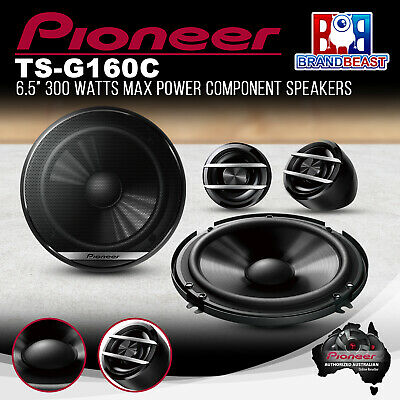 Pioneer TS-G160C 6 Inch 2-Way Component Speaker System 300W