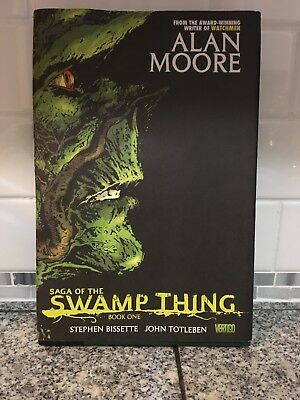 The Saga of Swamp Thing Book One  2009 Hardcover
