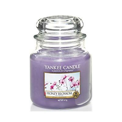(TG. 10x9.8x12.4 cm) Yankee candle 1254066E Honey Blossom Candele in giara media