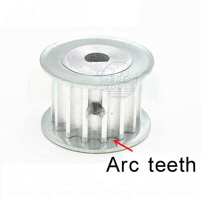 15 - 25 Teeth HTD 5M Timing Pulley Pitch 5mm D-type Bore Belt width 16mm - 27mm