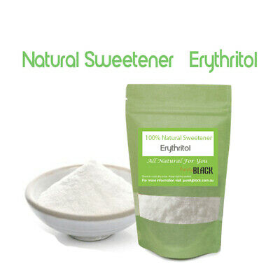 Erythritol - 100% Natural Healthy Alternative to Sugar. Natural Sweetener