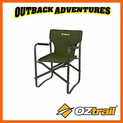 Oztrail Directors Classic Chair - Green Camping Chair