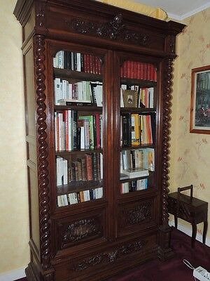 Tres Belle Bibliotheque Style Louis Xiii