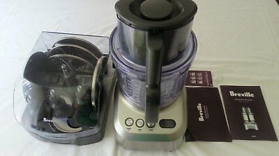 Breville Kitchen Wizz Pro 2000W Food Processor BFP800 Barely Used Like New