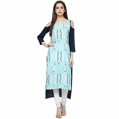 Indian Bollywood Kurta Kurti Designer Women Ethnic Dress Top Tunic Pakistani-363