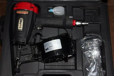 3 PRO COIL NAILER - HCN57PA - New In Protective Case