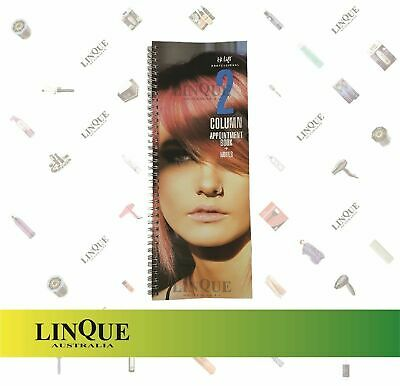 Dateline Appointment Book 2 Column Hairdressing Beauty Salon 50 Double Pages