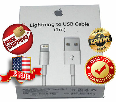 IncNew Genuine Original Apple Lightning to USB Charge Cable for iPhone 6s/Plus/7
