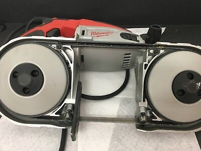 Milwaukee 6230N Deep Cut Portable Band Saw one Time used to test. Free shipping