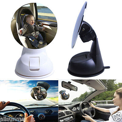 Car Children Kids Baby Back Seat Mirror Rear View Adjustable Safety Sucker