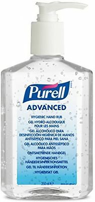 Purell Alcohol Based Hand Rub Gel Sanitiser Pump Bottle - 300ml