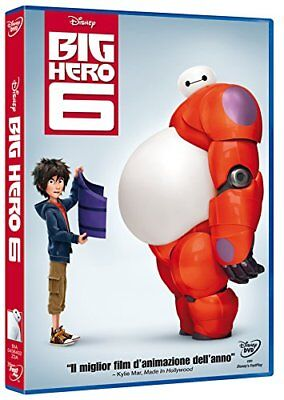 Big Hero 6 Di Walt Disney (Dvd) Nuovo, Italiano, Originale