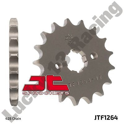 JT 17 Tooth 428 pitch front sprocket for Honda CB CBF CBR 125 RS Repsol RT RW R