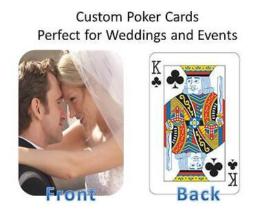 Custom Poker Cards -add your favorite images please allow 10-4 days for delivery