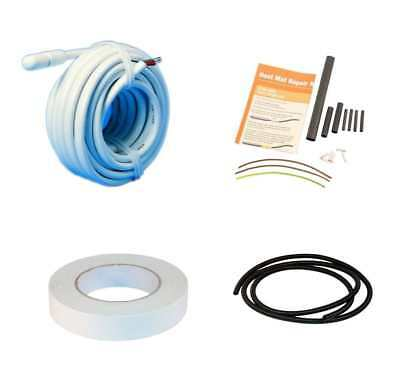 HeatMat Underfloor Repair Kits & Replacement Parts Cable Sensors Conduit Tape