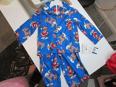 Rudolph the Red Nosed Reindeer Christmas Holiday Pajamas Pajama set 2T,3T & 4T