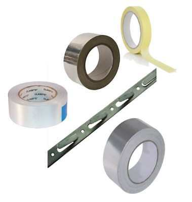HeatMat Tapes for Underfloor Heating Duct Masking Aluminium Fixing Strip