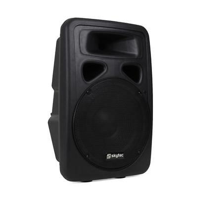 """Active 2 Way Pa Speaker 12"""" Bass Driver 300 W Rms Power *free P&p Special Offer"""