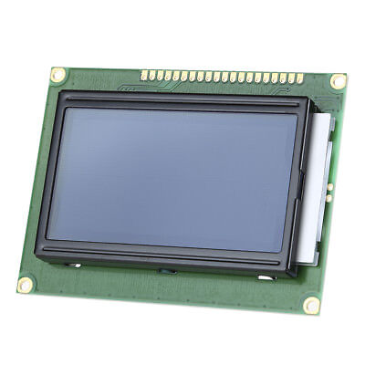 12864 128x64 LCD LCM Display Module Dots Graphic Blue Backlight Interface ST7920
