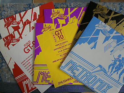 9LP  DJ Mix :  Metro Mix GT 5, 6, 9, 10 - US 1990 / 1991