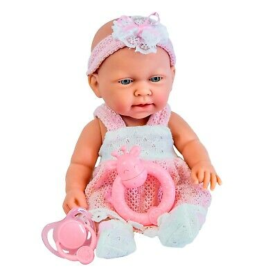 """10"""" Baby Doll Play Set with Milk Bottle and Baby Sounds Girls Toy"""