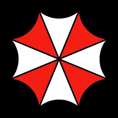 Resident Evil Umbrella symbol Die Cut Decal Vinyl Sticker