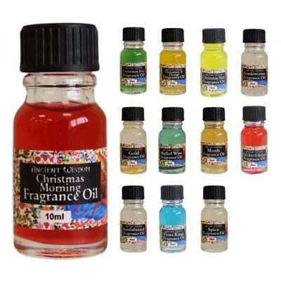 Christmas Fragrance Oils 10ml Ancient Wisdom - Burners & Diffusers Home Scent