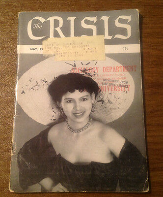 The Crisis: Record of the Darker Races NAACP Magazine May 1950, Civil Rights