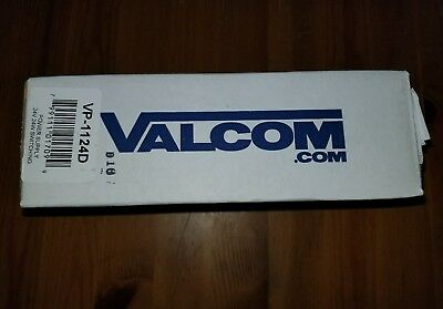 NEW VALCOM Wall- Rack Or Wall Mount 1 Amp Power Supply VP-1124D