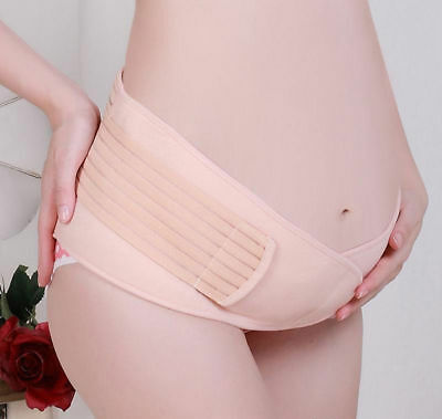Maternity Belt Belly Band Abdomen Support Maternity Accessory Breathable Pink