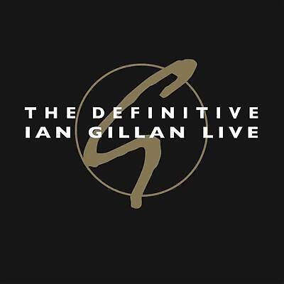 IAN GILLAN – THE DEFINITIVE IAN GILLAN LIVE 2x Red VINYL LP (NEW/SEALED)