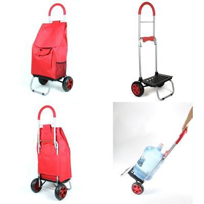 Stair Climb Rolling Foldable Trolley Cart Waterproof Shopping Grocery Climber