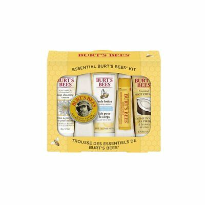 Burts Bees Essential Everyday Beauty Gift Set,  5 Travel Size Products - Deep