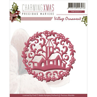 Find It Trading Precious Marieke Charming Christmas Die Village Ornament PM10037