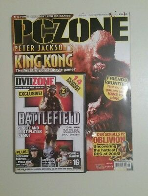 Pc Zone - Games Magazine Issue 158  Septembe 2005  King Kong,  Battlefield   J12