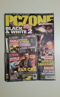 Pc Zone - Games Magazine Issue 139  March 2004   Black & White 2         J12