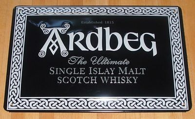 Ardbeg , Blechschild, Single Islay Malt Whisky Scotland