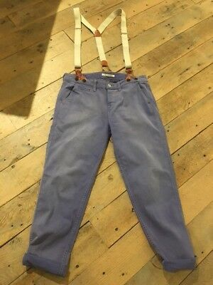 Levis with Suspenders